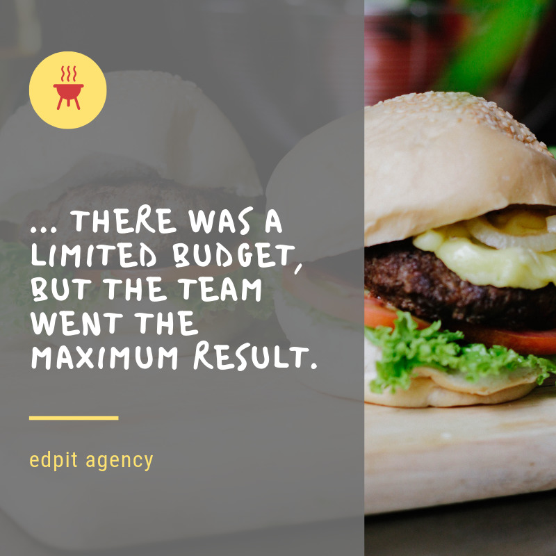 Advertising for restaurant and cafe examples