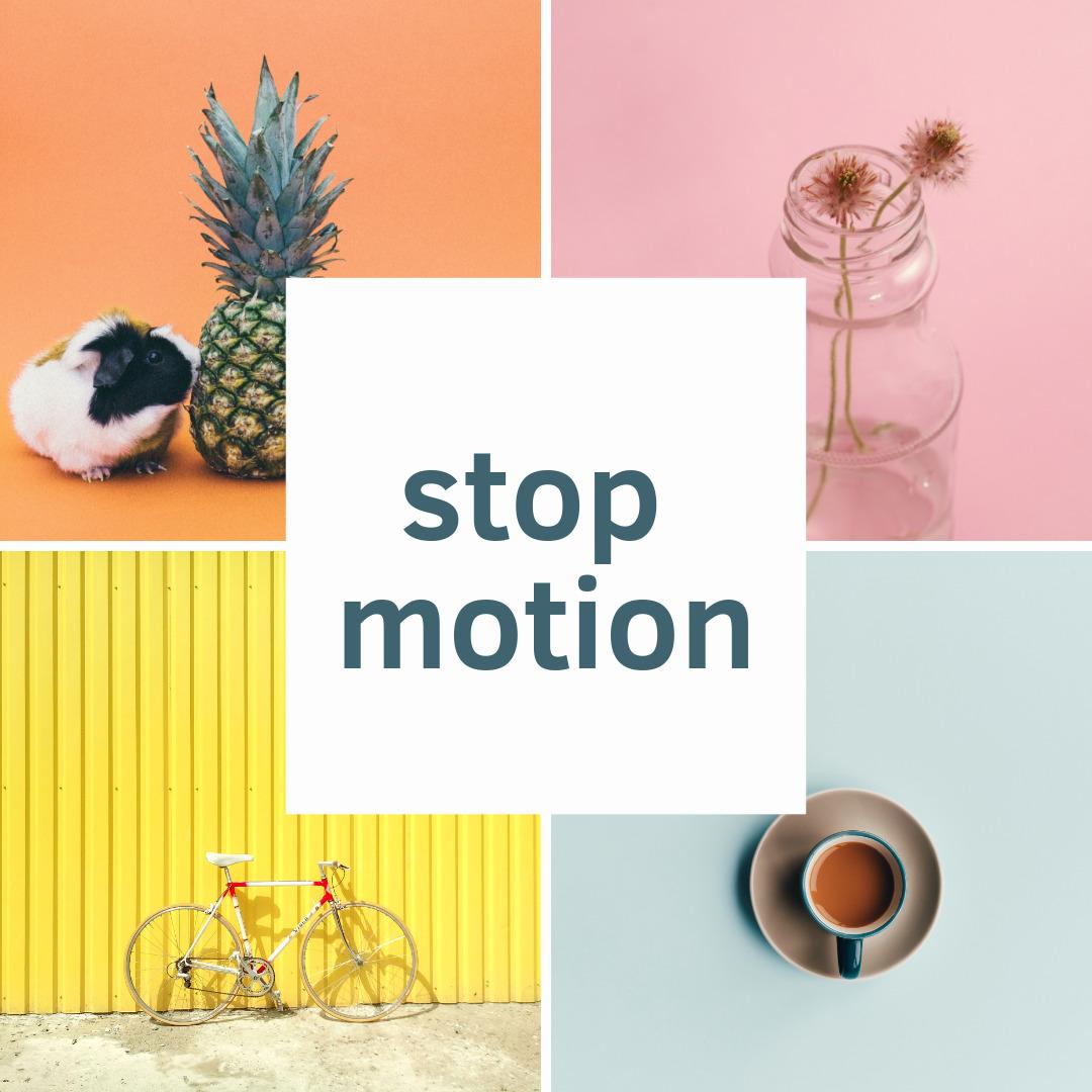stop motion, стоп моушн